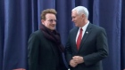 Bono and Pence meet in Munich