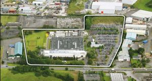 The Ericsson facility in Athlone stands on a site of 15.23 acres (6.16 hectares) and has been held as an investment for about 15 years by the Dublin property developer Gerry Gannon.