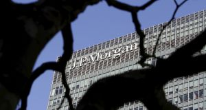 JP Morgan, Fidelity, Amundi and Schroders were among the companies selling funds with an active share of under 60 per cent and a tracking error of less than 4 per cent, said Better Finance. Photograph: Simon Newman/Reuters