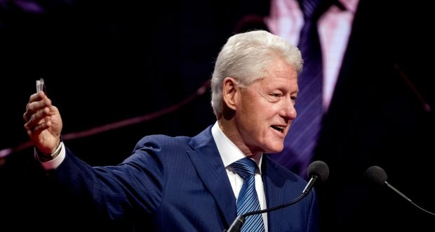 If you are as famous as  Bill Clinton, you can wallow in former glory more or less indefinitely. People will pay to hear you discuss your previous greatness many decades after the event. Photograph: Koen Van Weel/AFP/Getty Images