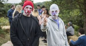 A Co Kerry priest complained about comments made on The Late Late Show by Blindboy Boatclub (left) of the Rubberbandits
