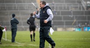 Davy Fitzgerald saw his Wexford side come from behind to beat Galway in Salthill. Photograph: Ryan Byrne/Inpho