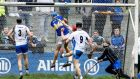 Tipperary's John McGrath scores a goal in the Allianz Hurling League Division 1A match against Waterford at  Walsh Park. Photograph: Photograph: Tommy Dickson/Inpho