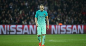 If Andres Iniesta had spent his career in teams that required him to run 50 metres on a regular basis, most of us would never have heard of him. Photograph: Christian Hartmann/Reuters
