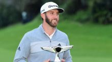 Dustin Johnson is the new world number one after his victory in the Genesis Open. Photograph: Harry How/Getty