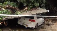 Floods hit Malaga following heavy storms
