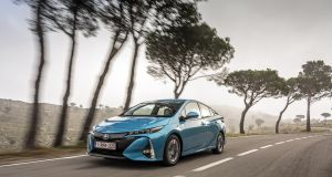 The new plug-in Toyota Prius claims an official range on electric-only power of 63km after which it returns to the 'regular' hybrid mode