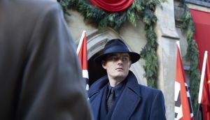 Sam Riley as detective superintendent Douglas Archer in SS-GB.  Photograph: Laurie Sparham