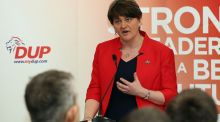 """It is disappointing that the deep and overlapping anti-Irish and anti-Catholic bigotry of so many DUP-supporting unionists appears to still play a significant role in Northern life and politics."" Above, DUP leader Arlene Foster.    Photograph: Paul Faith/AFP/Getty Images"