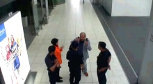 CCTV shows moment Kim Jong-nam is attacked in Kuala Lumpur