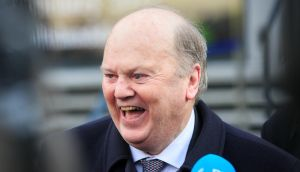 Minister for Finance Michael Noonan has insisted there is no possibility the State will follow the UK out of the EU. Photograph: Gareth Chaney/Collins