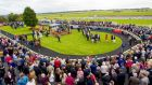 The Curragh's 'Champions Weekend' attracted an attendance of 9,255 in  2016.   Photograph: James Crombie/Inpho