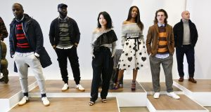 Variety show: the J.Crew presentation at New York Fashion Week. Photograph:  Brian Ach/Getty Images