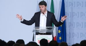 Renzi efforts to avoid  Partito Democratico split fail to unify party