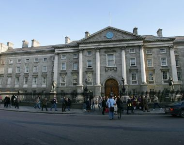 Up to 700 non-academic staff at Trinity College Dublin  are to ballot for industrial and strike action. File photograph: Bryan O'Brien
