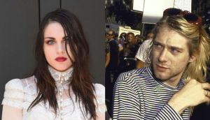 Frances Bean Cobain remembered her father Kurt Cobain, who would have   turned 50 on Monday, with a touching note. Photographs: Getty Images