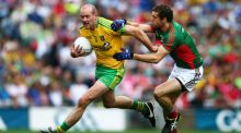 Neil Gallagher has announced his retirement from intercounty action with Donegal. Photograph: Cathal Noonan/Inpho