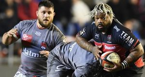 Toulon's  centre Mathieu Bastareaud has been ruled out of France's  Six Nations game against Ireland on Saturday with concussion. Photograph:  Boris Horvat/AFP/Getty Images