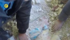 Small child pulled alive from rubble following Syrian air strike