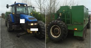 Twitter users speculated that perhaps the driver was 'in a real slurry'. Photograph: Twitter