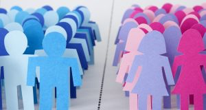 Gender gap: Irish boardrooms have an 18 per cent female participation rate, compared to 22 per cent in the UK, 34 per cent in France and 16 per cent in the US. Illustration: Getty