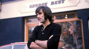 George Best, a  football celebrity on an unprecedented scale. Photograph: PA