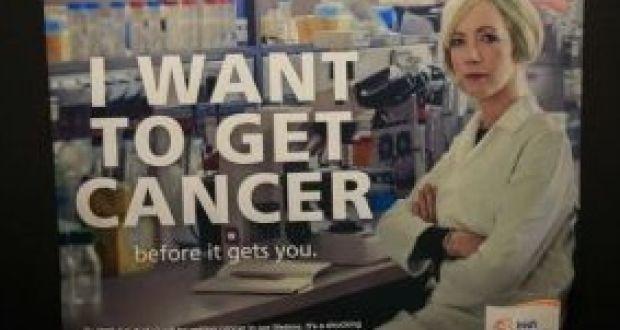 I want to get cancer ad campaign attracts almost 100 complaints almost 100 complaints were lodged with the advertising watchdog about the irish cancer societys recent campaign fandeluxe Images