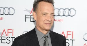Tom Hanks is to make his debut as a fiction writer this autumn with Uncommon Type: Some Stories. Photograph: Getty Images