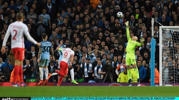 Man City beats Monaco 5-3 in wild Champions League game