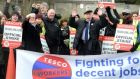 Only one store voted in favour of strike action at Tuesday's ballot. File photograph: Cyril Byrne/The Irish Times