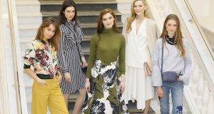Five of the key trends in Marks & Spencer's new spring summer collection, unveiled in Dublin today:  From left, Havana, Simply Elevated, Earth, The Event Edit and Craftwork