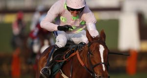 Ruby Walsh and Limini won the  Quevega Mares Hurdle at Punchestown. Photograph:  Alan Crowhurst/Getty Images