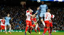 "Yaya Toure in action against Monaco. ""We have always been used to coming back in games. We showed a lot of desire and hunger as well.""  Photograph:  Martin Rickett/PA Wire"