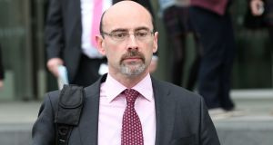 Witness Vincent Bergin, an auditor with EY, at  the Dublin Circuit Criminal Court. Photograph:  Collins Courts.