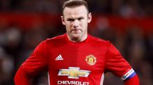 Wayne Rooney is unlikely to leave Manchester United for the Chinese Super League before its transfer window shuts next week. Photograph:  Martin Rickett/PA Wire.