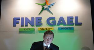 "Taoiseach Enda Kenny: ""We don't fight in Fine Gael. We are a united party."" File photograph: Alan Betson/The Irish Times"