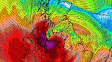 Met Éireann has warned of 'gale force northwest winds and some severe and damaging squalls' in places.