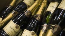 Champagne   disappeared from the CPI in 2012 –  but it's back in now. Photograph:   Getty Images