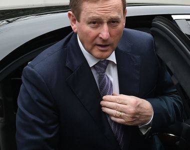 'Enda Kenny will be clinging to office for another eight or 10 weeks but will have no power.' Photograph: John Thys/AFP/Getty Images