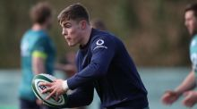 Garry Ringrose is braced for his most physical challenge yet against France on Saturday. Photograph: Dan Sheridan/Inpho