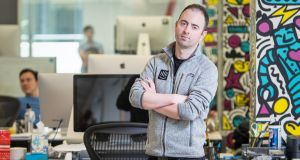Intercom chief executive and co-founder Eoghan McCabe. Photograph: Martin Lacey
