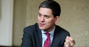 "International Rescue Committee president David Miliband: ""Ireland can build its pride by saying: 'We're part of this world, not separate from it.'"" Photograph: Maxwell Photography"