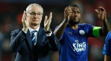 Leicester City have sacked manager Claudio Ranieri. Photograph: Reuters/John Sibley