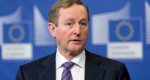 "Taoiseach  Enda Kenny: ""Now Enda has been shown respect and given time to finish the job he was tasked to do and elected to do,"" says Castlebar Fine Gael activist Tomás Collins. Photograph: AP"