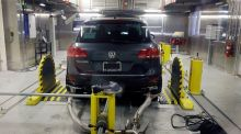 Volkswagen agreed last month to pay $4.3 billion in penalties and plead guilty to using false statements to import cars into the US. Photograph: Carlos Osorio/AP