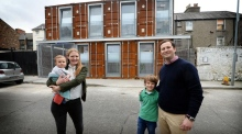 Living in a box: The Ringsend home made from shipping containers