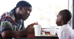 The one the critics want to win: Mahershala Ali and Alex R. Hibbert in Moonlight