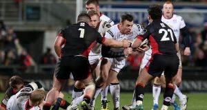 Ulster's Tommy Bowe in action against Edinburgh earlier this month. Photograph: Inpho
