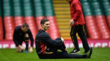 George North is back in the saddle for Wales's trip to Edinburgh. Photograph: Stu Forster/Getty