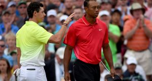 McIlroy says he feels sorry for Tiger Woods and the pressure he has to deal with. Photo: Ross Kinnaird/Getty Images